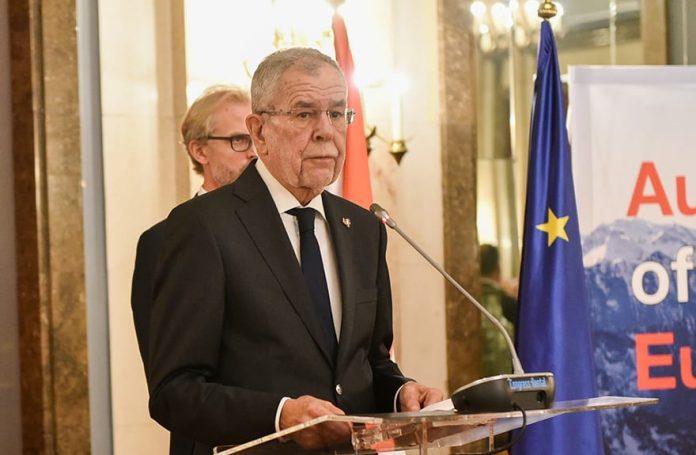 Austrian President Alexander Van der Bellen at the Belgrade Security Forum