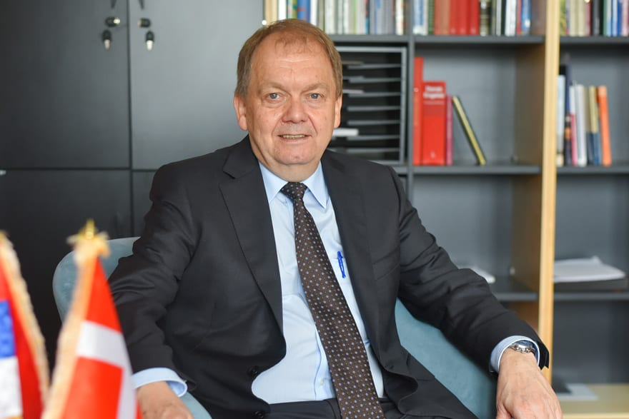 Anders Christian Hougard Ambassador Denmark to Serbia