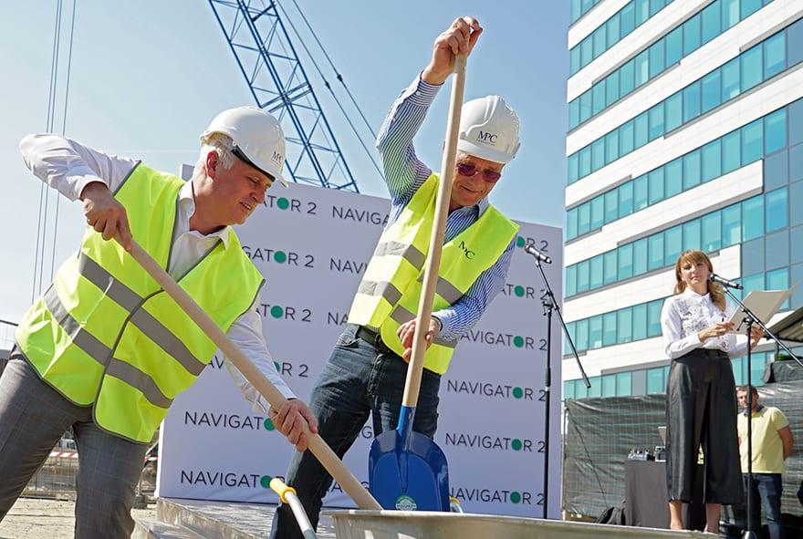 Goran Vesić Ingo Nissen MPC Properties Invests 45 Million Euro in New Business Property