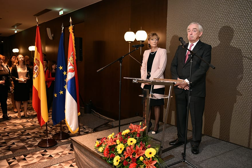 Marking of the National Day of Spain Miguel Fuertes Suárez