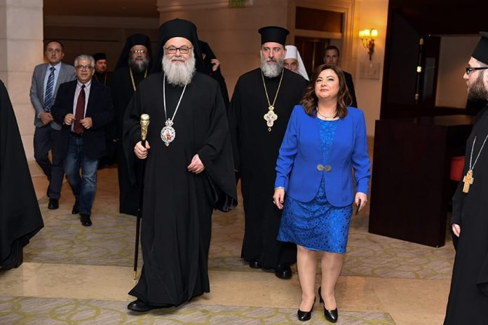 Nada Al Akl Ambassador of Lebanon Hosts Dinner Event in Honour of Patriarch of Antioch