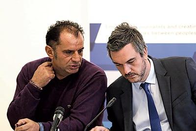 Western Balkan Six Chamber Investment Forum Safet i Marko Čadež