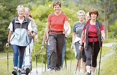 World's Happiest People Nordic Nordic walking