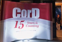 CorD Ceremoniously Celebrates 15th anniversary
