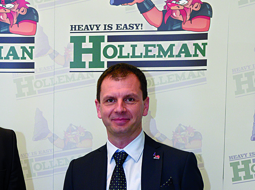 Dejan Tubić, Director, Holleman Transport