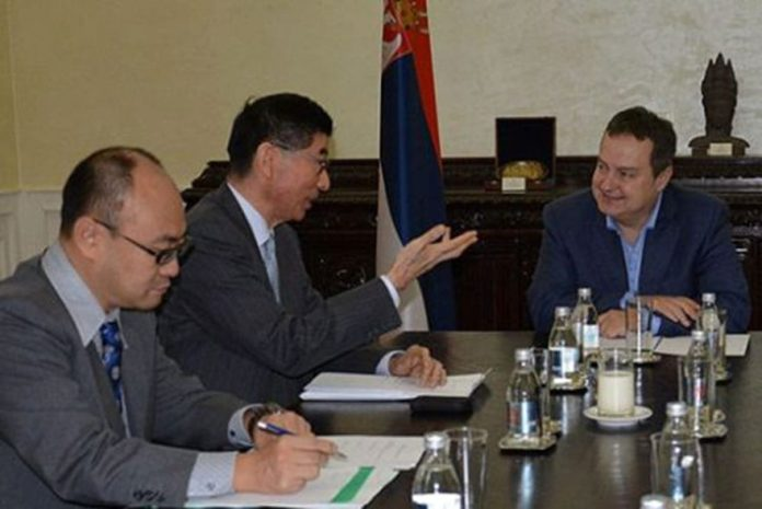 Maruyama Dacic Strengthening of cooperation between Serbia and Japan