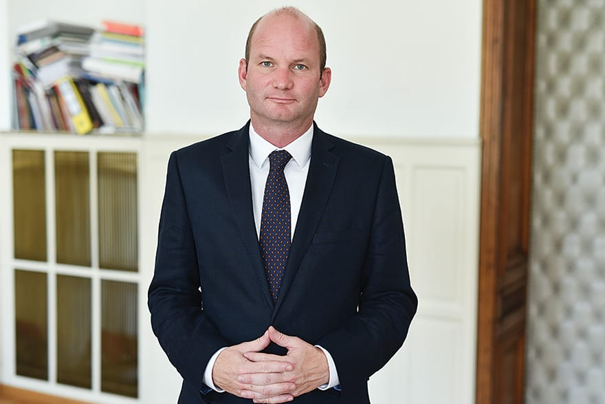 Johannes Irschik, Director of the Austrian Cultural Forum and President of EUNIC, We Support Serbia's European Dimension
