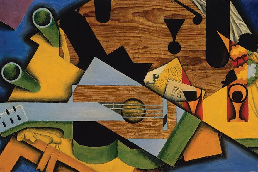 Juan Gris: Still Life With A Guitar