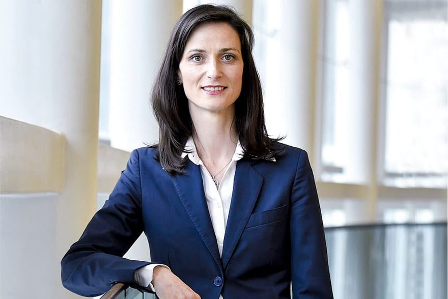 Mariya Gabriel European Commissioner for Digital Economy and Society, Investments In People Guarantee Success