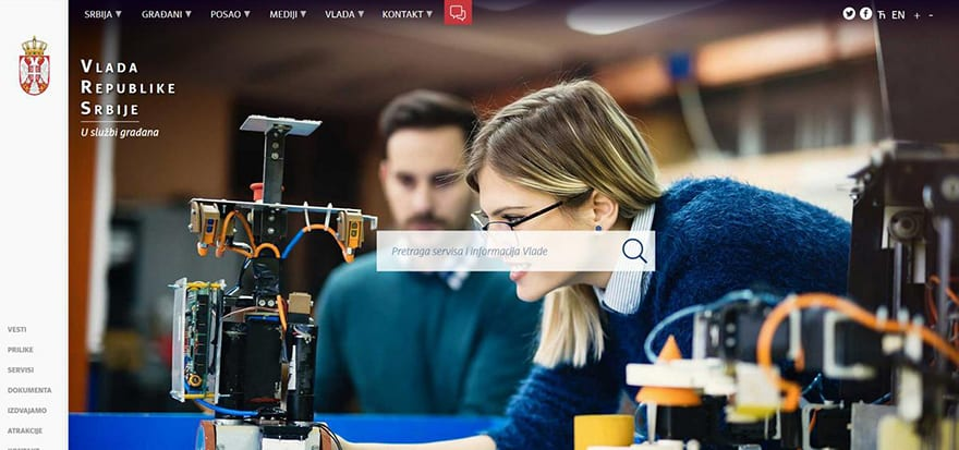 New website of the Government of Serbia launched