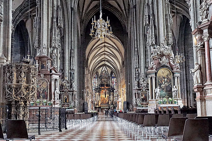Stephansdom Is A World-famous Cultural Heritage Site In Austria