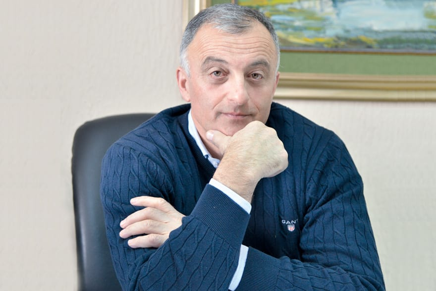 Stojan Rangelov, B.sc. Engineer, Co-owner of Company Putevi Ivanjica, Safe Roads Made to EU Standards