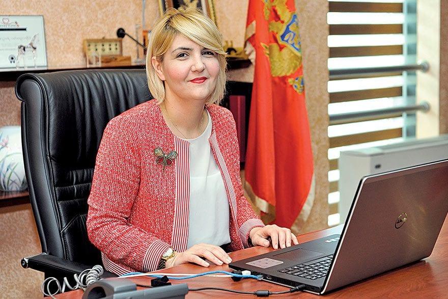 Dragica Sekulić, Economy Minister of Montenegro