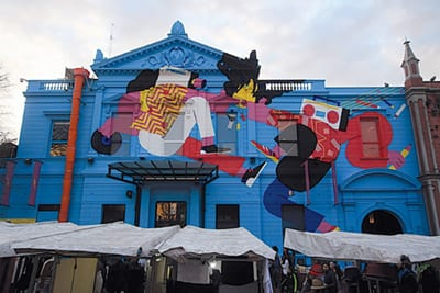 Front of Cenrto Cultural in Buenos Aires