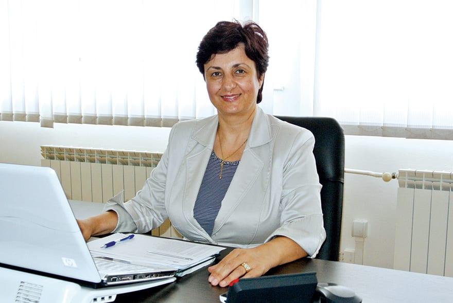 "Ljiljana Karaklajić, Owner and Director of Enterprise ""d Express"", Belgrade"
