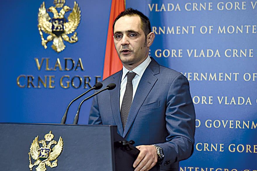 Pavle Radulović Montenegro Minister of Sustainable Development & Tourism