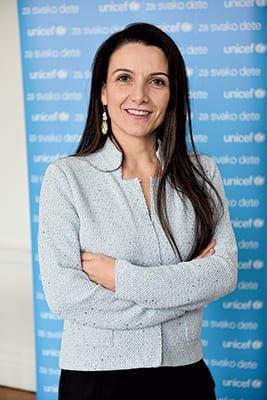 Regina De Dominicis, Unicef Representative In Serbia