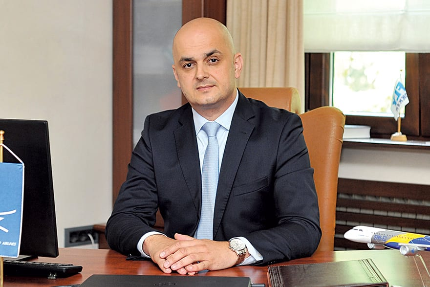 Živko Banjević, Executive Director of Montenegro Airlines