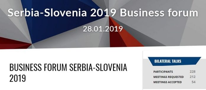 Business Forum Serbia Slovenia 2019
