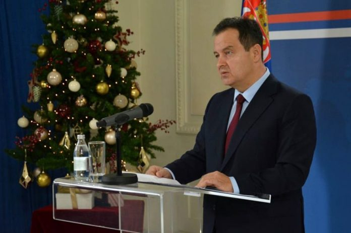 Ivica Dacic New Year's reception by the Minister of Foreign Affairs Ivica Dacic