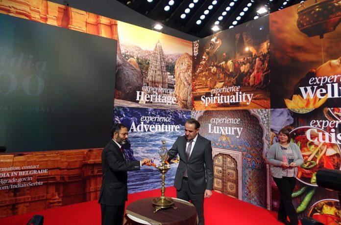 """Incredible India"" at 41st International Tourism Fair"
