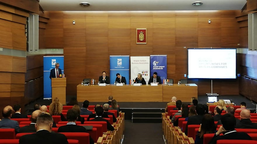 Presentation of the Business Opportunities for Belgian Companies in Serbia