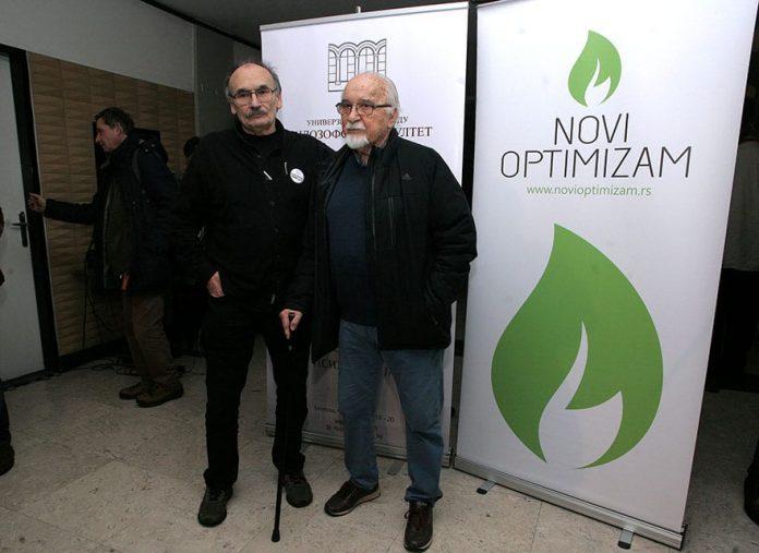Predrag Koraksić Corax and Dušan Petričić