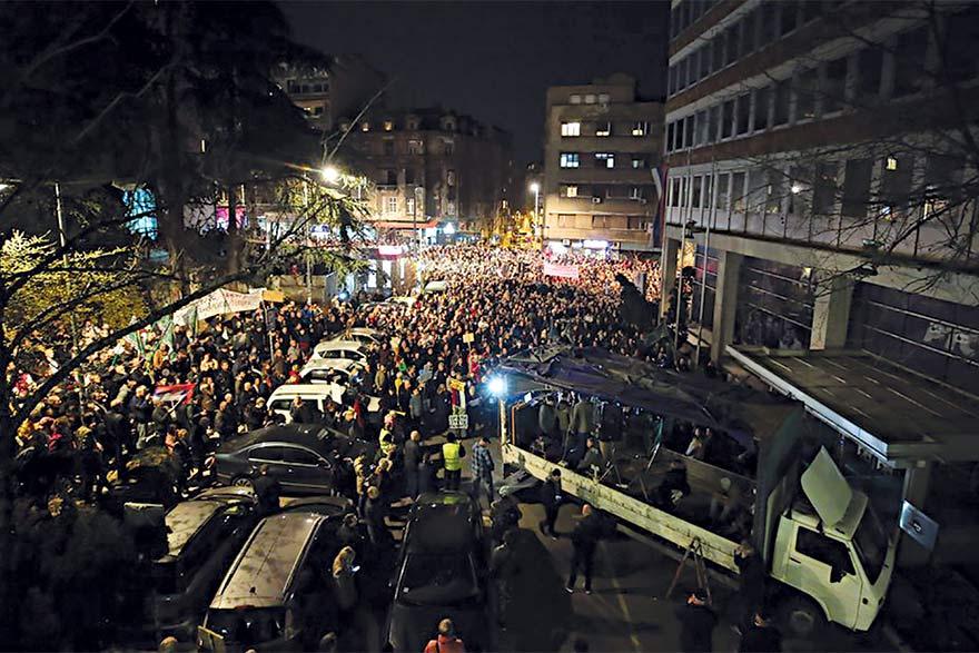 Protests in Serbia Radicalised