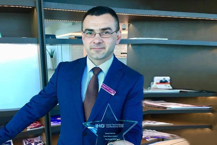 Goran Radisavljević, Cluster It Manager for Crowne Plaza Belgrade and Intercontinental Ljubljana