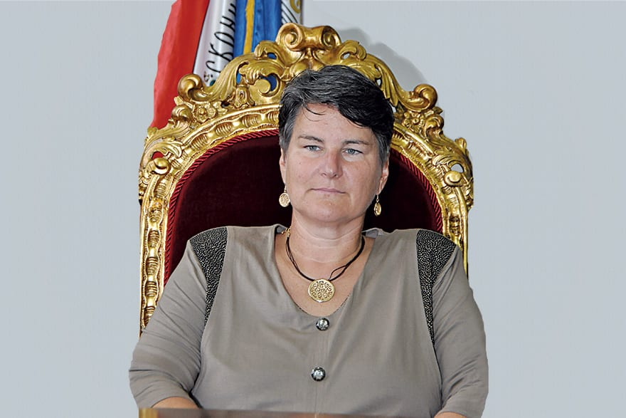 Ivanka Popović, Ph.d. Chancellor of the University of Belgrade