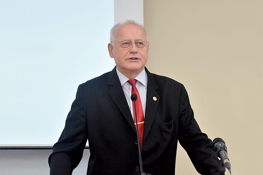 Milovan Stanišić PhD, President of Singidunum University