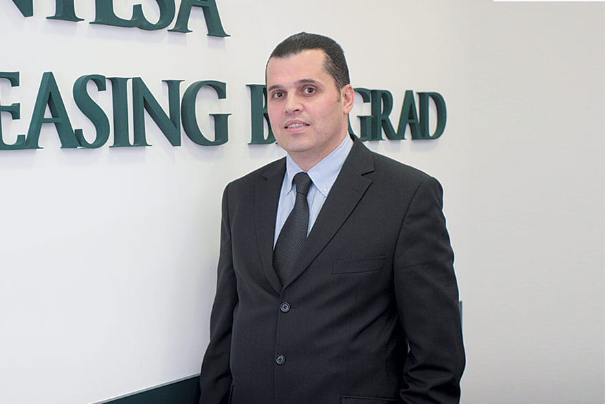 Nebojša Janićijević, President of the Intesa Leasing Executive Board