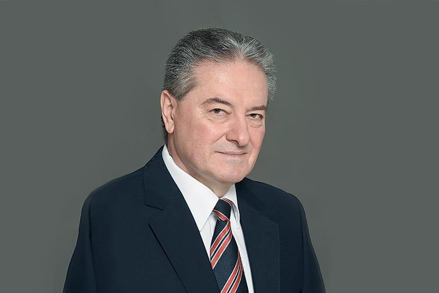 Prof Miodrag Jevtić, Dsc(Med), Rector of Megatrend University