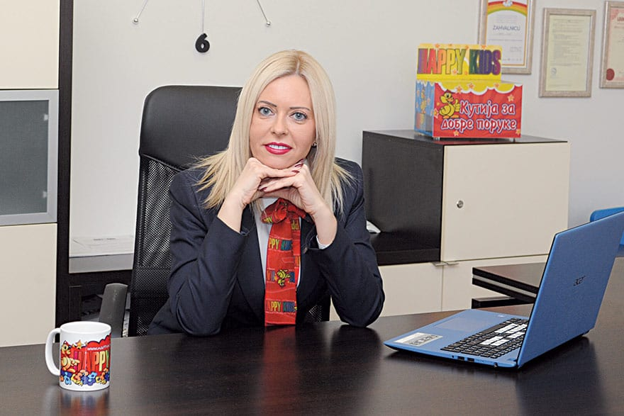 Tatjana Rackov Sinadinović, Manager and Owner of Happy Kids Preschool