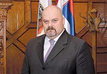 Čedomir Janjić, Mayor of the City of Zrenjanin