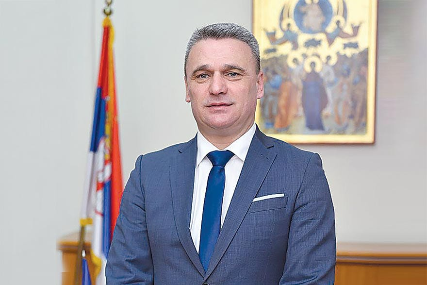 Milun Todorović, Mayor of the City of Čačak