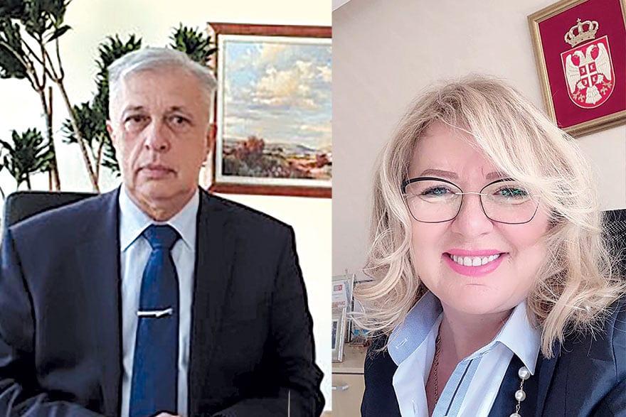 Mirjana Čizmarov and Predrag Jovanović