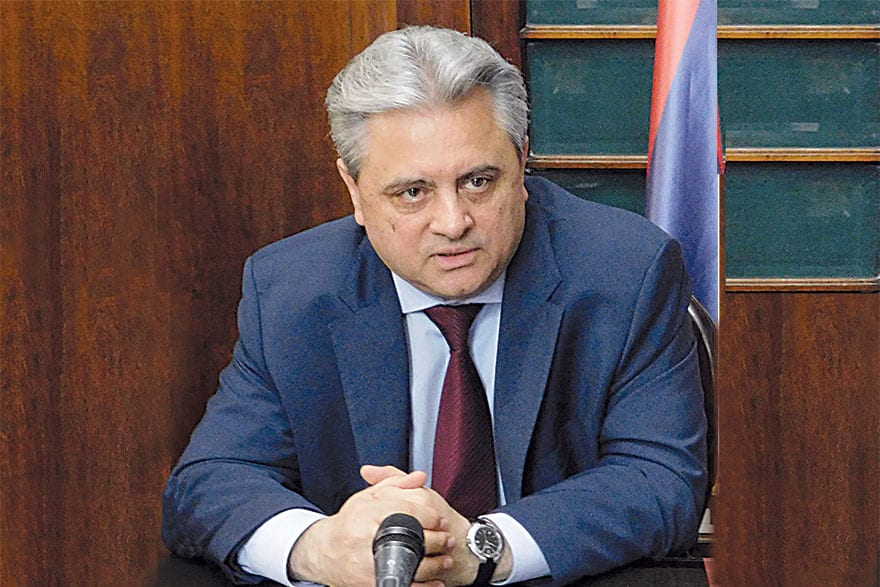 Miroljub Jevtić, Director General, Serbian Railways Infrastructure