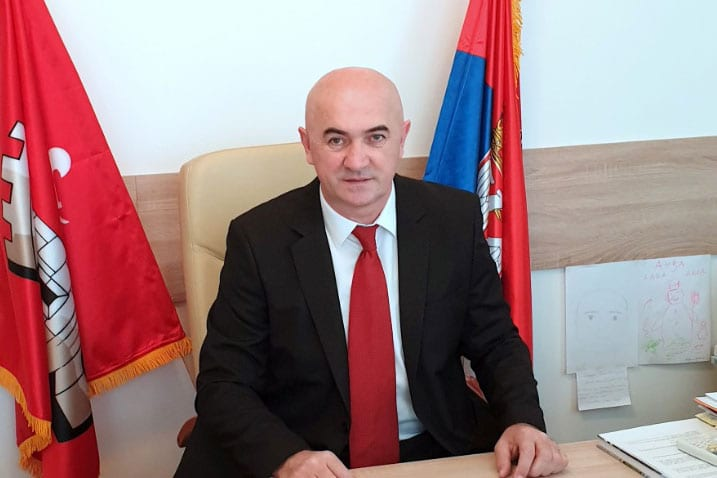Miroslav Nikolić, President of the Municipality of Knić