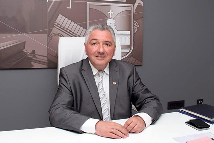 Vladan Kocić, President of the Belgrade Municipality of Rakovica