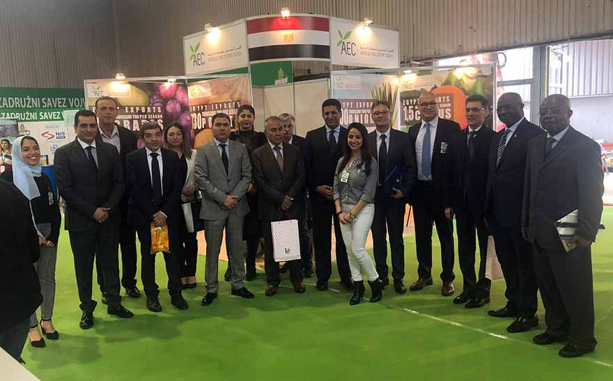 Egypt's Ambassador to Belgrade inaugurates Egypt's first pavilion at the Novi Sad International Agricultural Fair