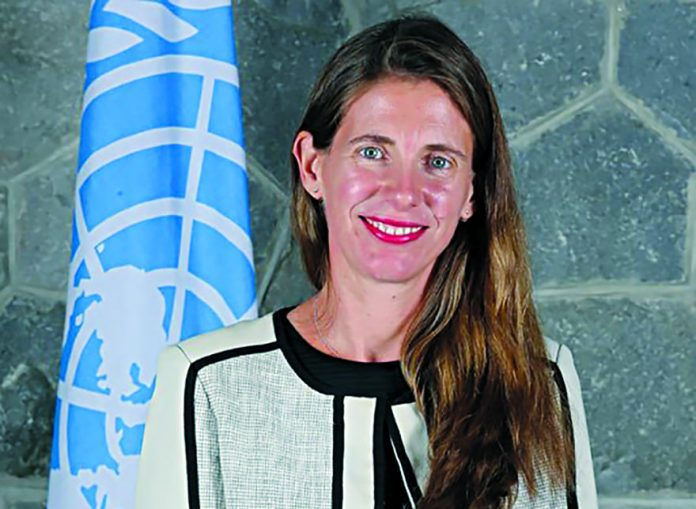 Francine Pickup is a newly appointed Resident Representative at UNDP Serbia