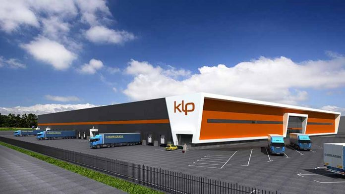 KLP logistics centre start of the construction ceremony on 16 May