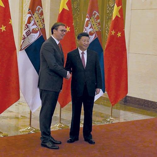 President Aleksandar Vučić With President Xi Jinping