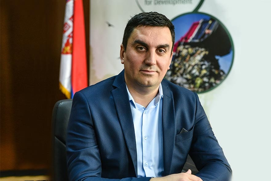 Slobodan Perović Ministry for Environmental Protection