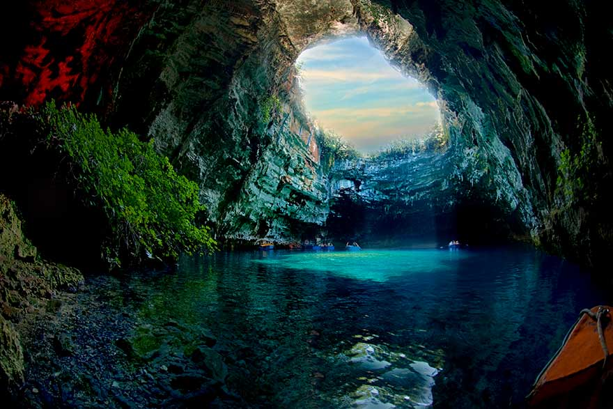 The Incredible Blue Caves of Greece