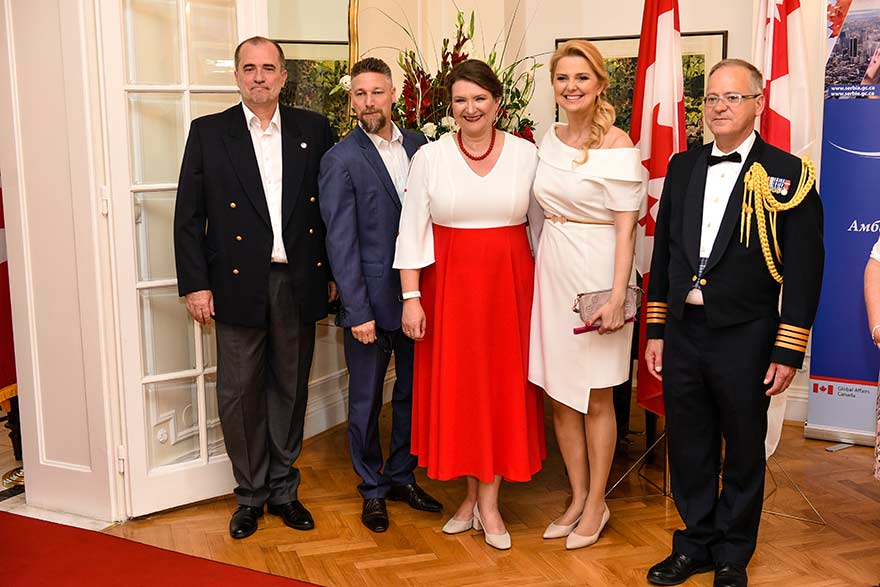 Canada Day in Belgrade 2019