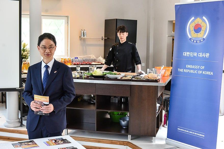 Ambassador of Korea to Serbia Choe Hyoung-chan