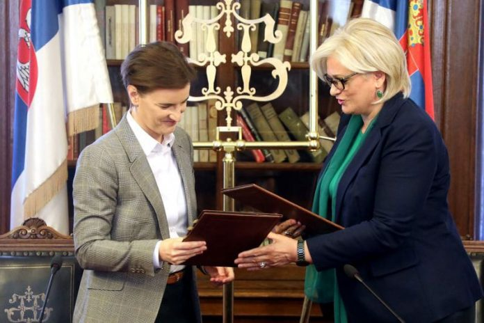 E-Serbia Ana Brnabic Jorgovanka Tabakovic