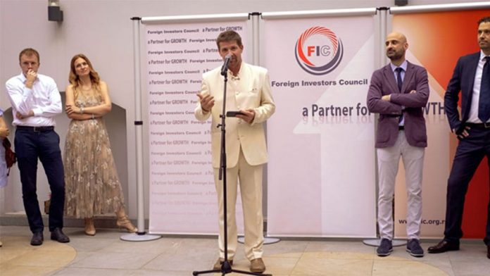 FIC Cocktail Focus on Topic of Growth Dejan Turk